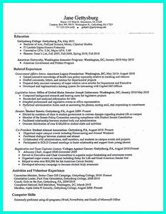 the perfect college resume template to get a job With creating a college resume