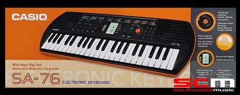 Casio Sa76 by Casio Sa76 Portable Keyboard 44 Mini South Coast