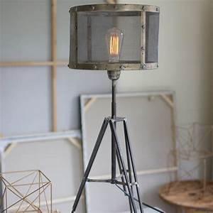 Mesh, Shade, Table, Lamp