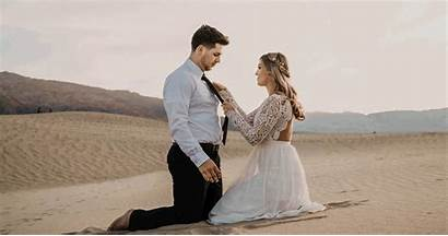Valley Death Sunset Elopement Styled California Shoot