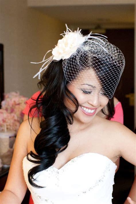 wedding hairstyles  birdcage elle hairstyles