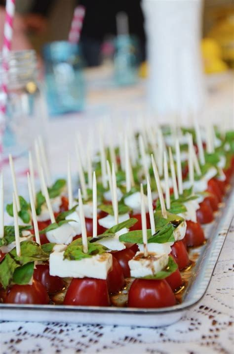 caprese salad   stick murder mystery party italian