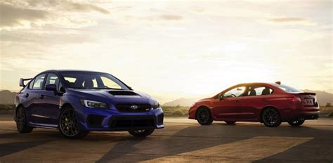 Subaru Wrx Sti Msrp by 2018 Subaru Wrx Sti And Wrx Msrp Announced