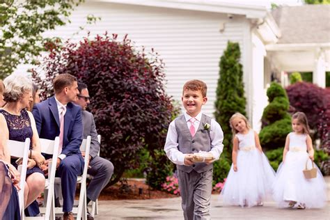wedding traditions the history of the wedding ring bearer