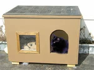 cat house cat house for those chilly nights