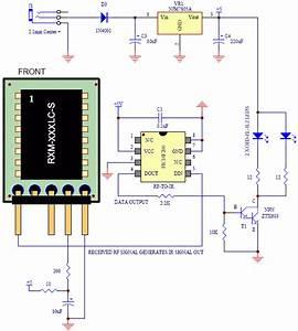 Rf Receiver To Infrared Transmitter Circuit In 2019