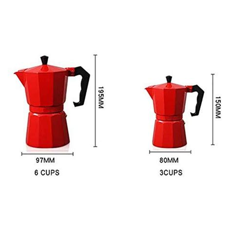 Sei fortunato, le hai trovate. Aluminum Mocha Coffee Pot Italian Coffee Maker Portable Coffee Kettle Kitc O3M0   eBay