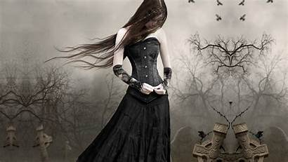 Gothic Dark Goth Wallpapers Backgrounds Wallpoper Night