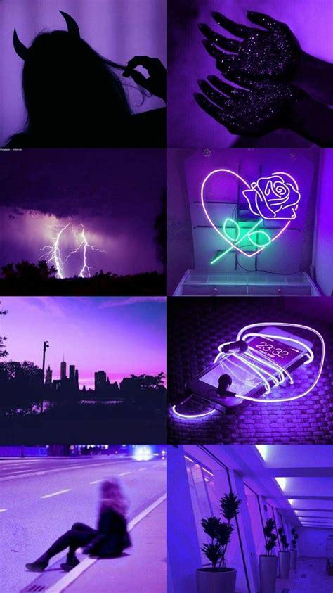 aesthetic dark purple wallpapers wallpaper cave