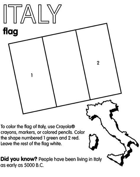 Coloring Italy by Italy Flag Coloring Page Italy Coloring 6 645 215 813