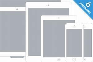 Apple Device Wireframe Mockups | Wireframe mockup ...
