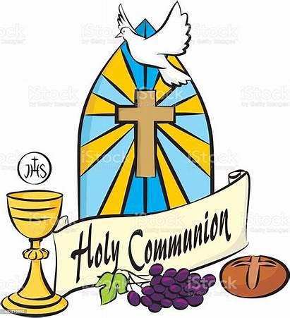 Communion Holy Eucharist Clipart Vector Chalice Clip