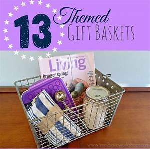 13 Themed Gift Basket Ideas for Women, Men & Families ...