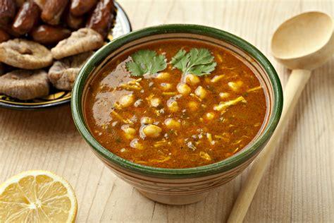 harira recipe moroccan tomato soup with chickpeas and