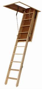 Escalier Escamotable Grenier : echelles escaliers escamotables de grenier en bois ~ Melissatoandfro.com Idées de Décoration