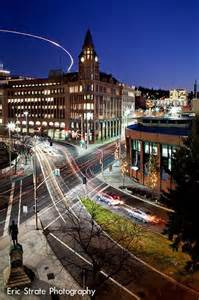 Downtown Spokane Washington