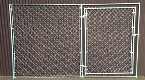 portable chain link fence panel  gate