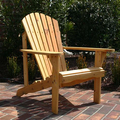 adirondack fan back chair dfohome