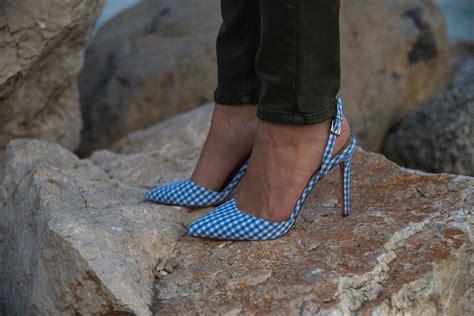 porto abbinamenti scarpe a quadretty vichy per un insolito e romantico