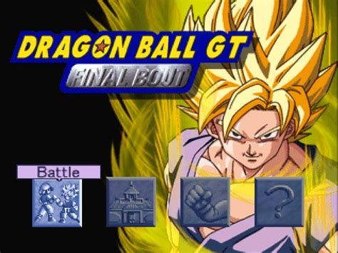 Download Dragon Ball Gt  Final Bout ( Ps 1 )  Dimas Blog's
