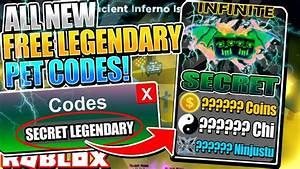 All  Free Legendary Pet  Codes In Ninja Legends   Roblox