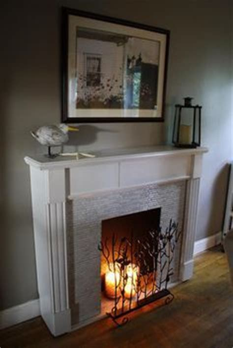 ideas  fake fireplace mantles  pinterest