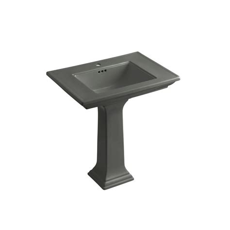 kohler memoirs ceramic pedestal combo bathroom sink in in