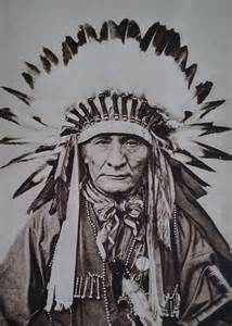 Native American Apache Indian Chief