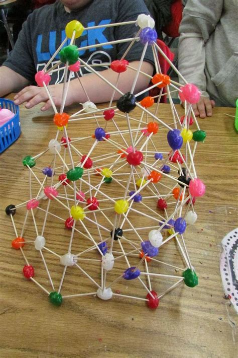 growing  stem classroom geodesic domes  jelly beans