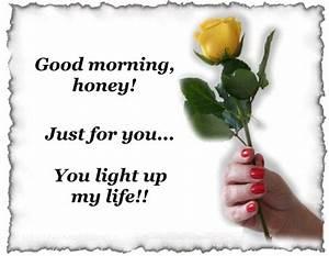 Good Morning Honey Quotes. QuotesGram