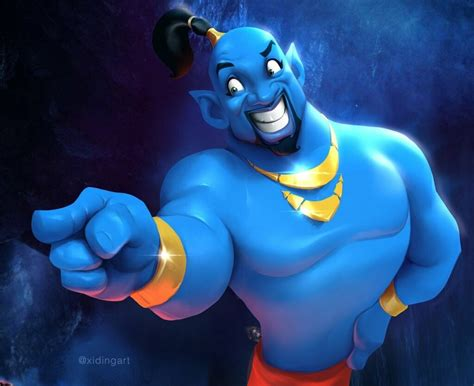 Aladdin Artstation Stylised Design Will
