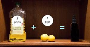 simple 2 ingredient diy wood polish happy money saver With homemade lemon furniture polish