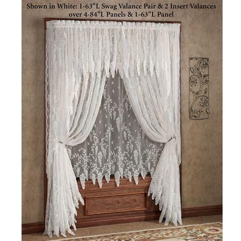 blinds curtains gorgeous jcpenney lace curtains