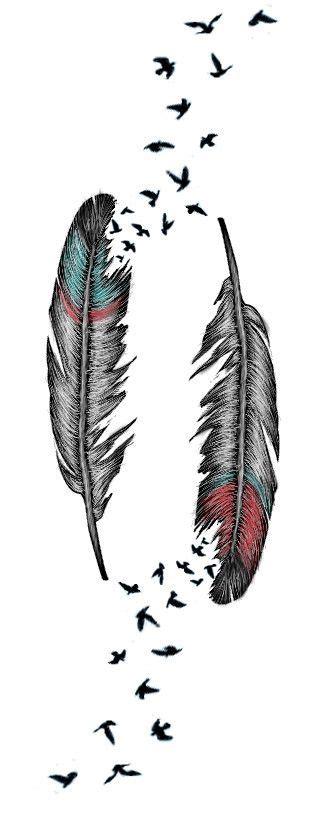 pin  mimimi  federfeather tattoo ideen tattoo