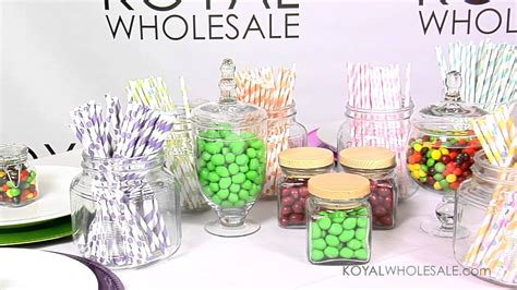 wholesale wedding decorations buffet supplies and apothecary vases for weddings