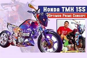 Honda Tmx 155  U2013 Optimus Prime Concept