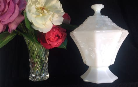decorating with milk glass milk glass wedding decor vintage 1960s vintage wedding