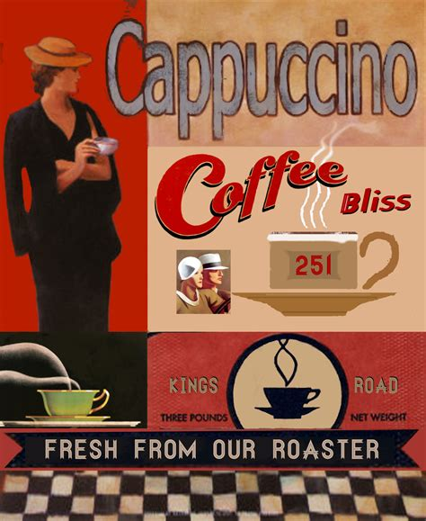 Coffee decoration collection | set of calligraphic and typographic elements styled design, frames, vintage labels. New Retro caffe poster design NGS - NGS Spirit of London Signwriting
