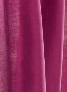 Rideau Toile De Jute : jute rideau en toile framboise ~ Teatrodelosmanantiales.com Idées de Décoration