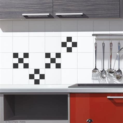 stickers carrelage mural cuisine stickers pour carrelage mural damier de plage sticker