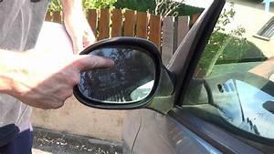 Changer Un Miroir De R U00e9troviseur En 1 Minute