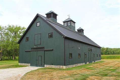 english barns  england barn custom barns gambrel barn colonial farmhouse green barn