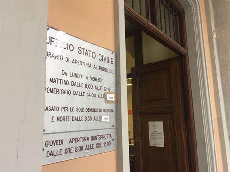 ufficio di stato civile istituito in comune il registro dei testamenti biologici