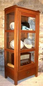 Petit Meuble Vitrine : meuble vitrine ancienne en teck ~ Melissatoandfro.com Idées de Décoration