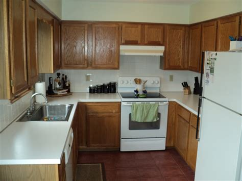 Small U Shaped Kitchen Designs With Oak Cabinets Combined