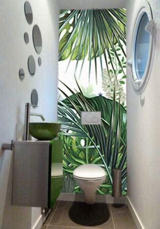 papier peint trompe loeil jungle tropicale nouveaute