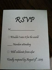 Responding to wedding rsvp cards m mini bridal for Rsvp card ideas