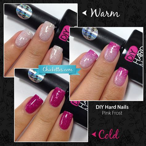 Color Changing Gel Polish From Diy Hard Nails Demo Review
