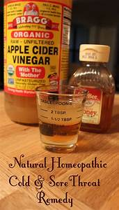Apple Cider Vinegar Cold Remedy | Homemaker Chic