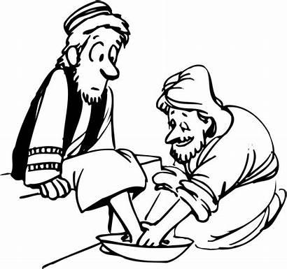 Humble Washing Feet Jesus Humility Disciples Intellectually